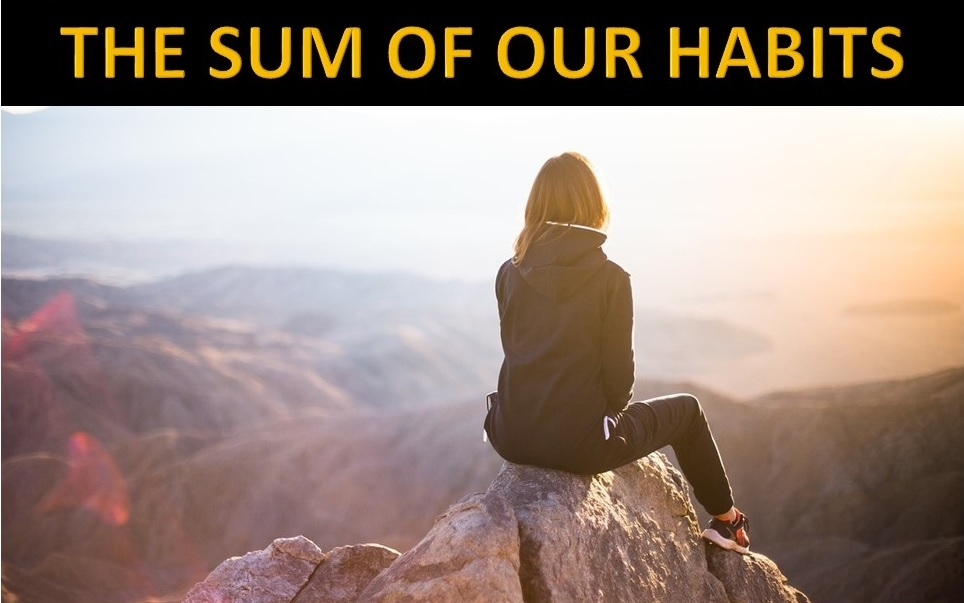 THE SUM OF OUR HABITS