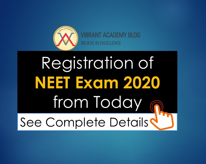 Registration of NEET 2020 from today, see complete details