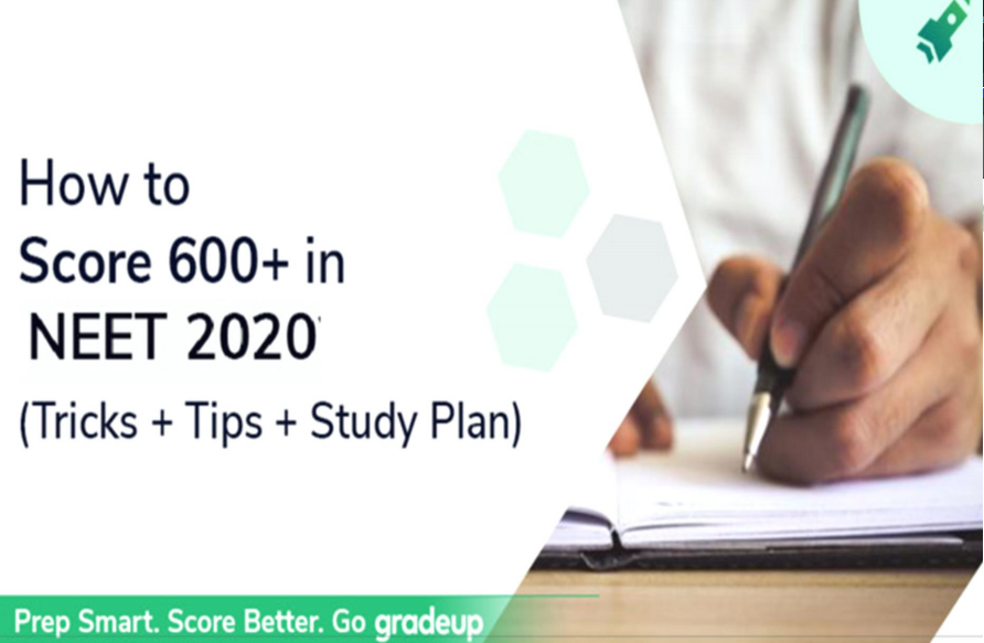 How to Score 600+ in NEET-UG Tricks, Tips and Study Plan