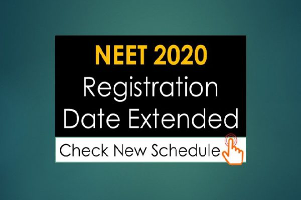 NEET 2020 Registration Date Extended